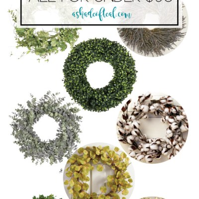 12 Fall Wreaths, All For Under $50