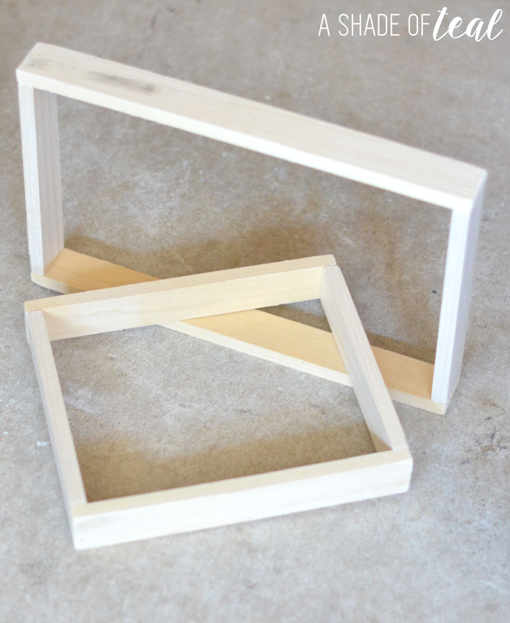 How to make Simple Rustic Wood Frames