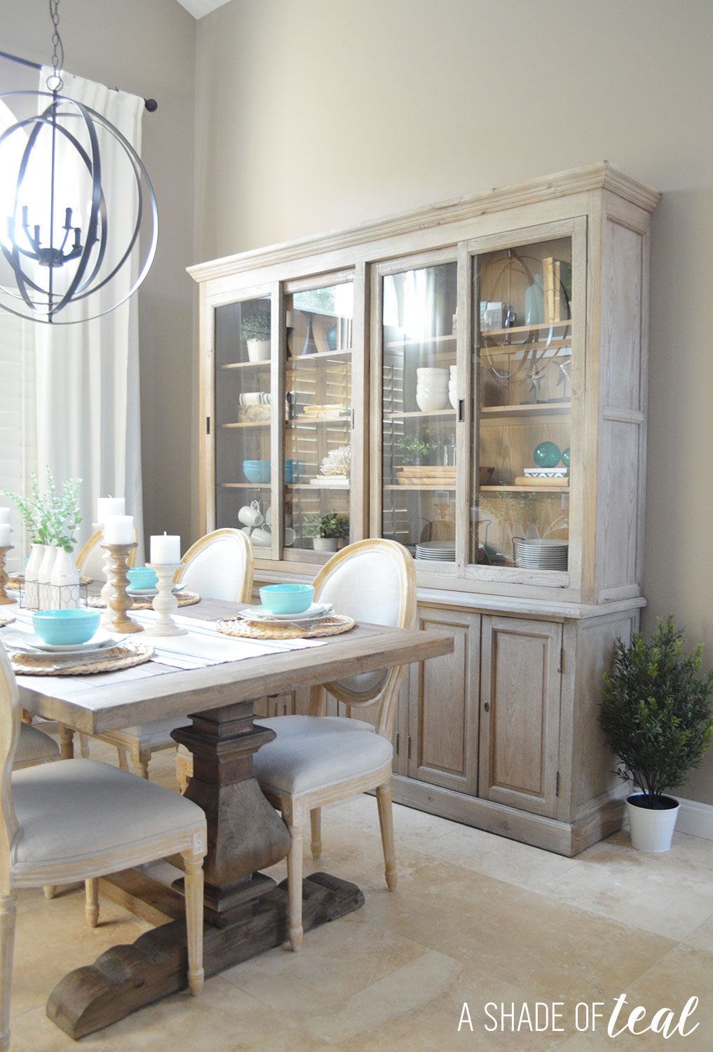 Modern Rustic Cabinet with Urban Home