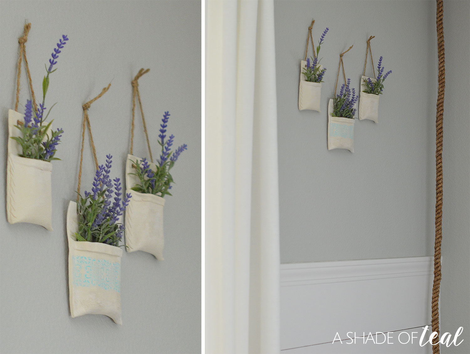 how to make clay hanging flower vases create share challenge