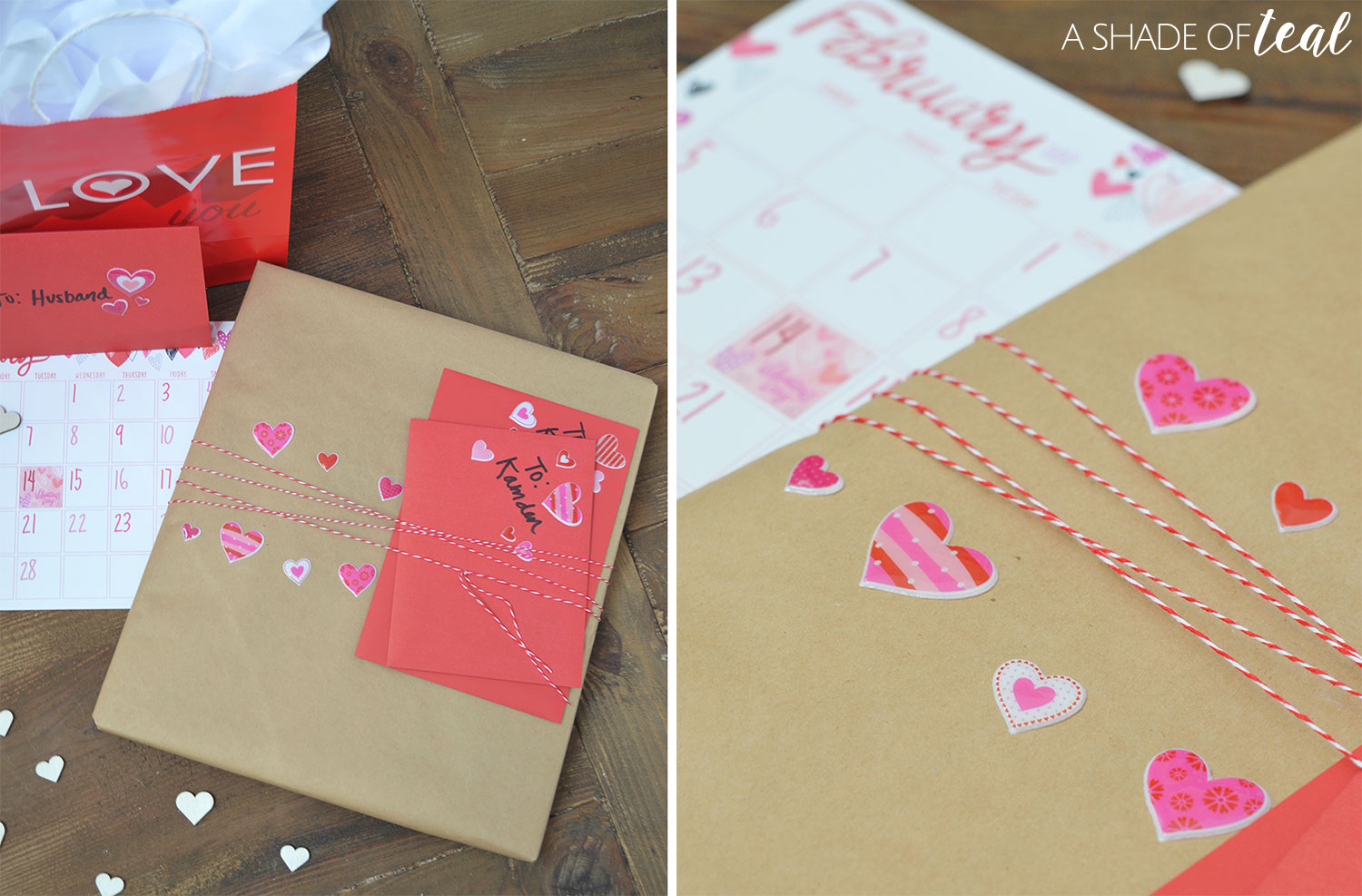How To Make Wrap A Valentines Sign