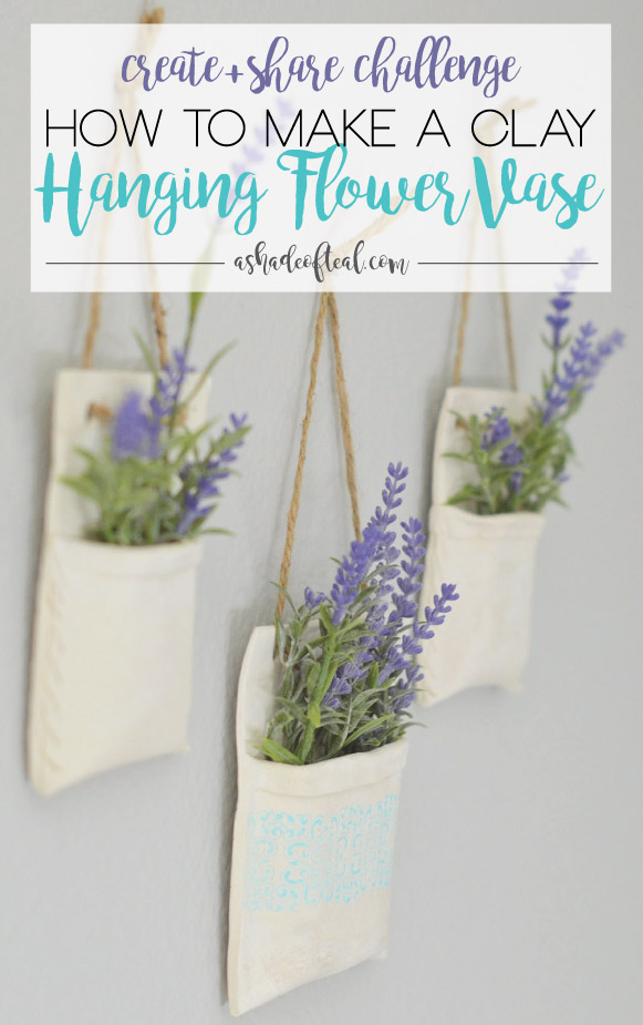 How to make Clay Hanging Flower Vases, Create & Share ...