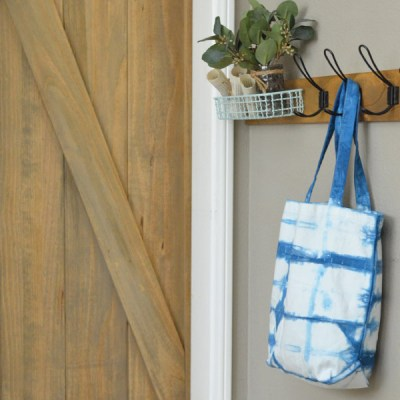 For The Love of Shibori! How to Shibori Dye a Bag