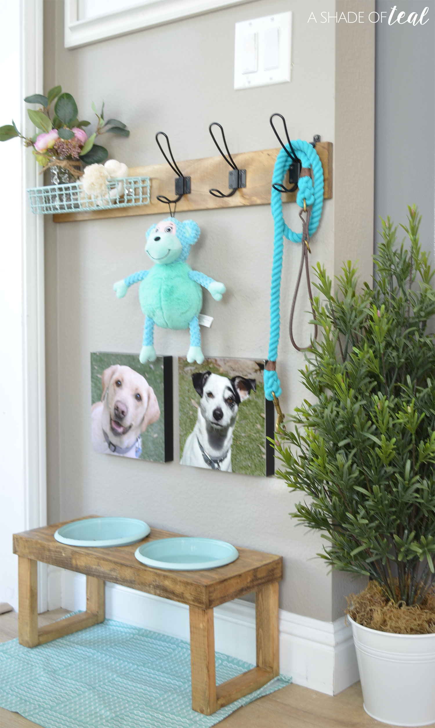I Recommend Finding Studs To Mount It To. Then Hang Up Your Dog Leash And  Their Favorite Toys And Your Good To Go!