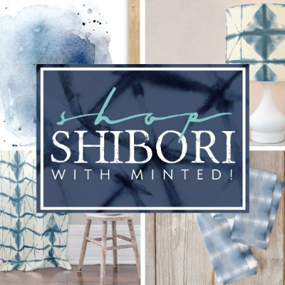 Shop Shibori with Minted!