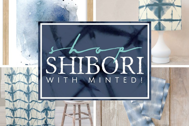 Shop Shibori with Minted!