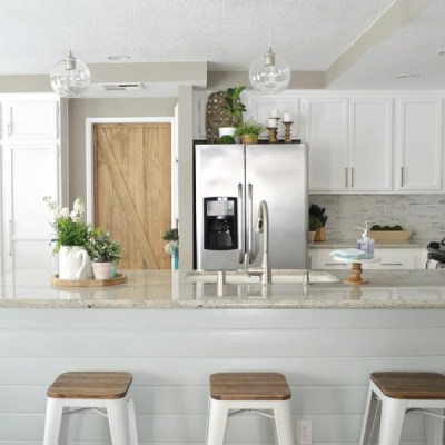 Modern Rustic Kitchen Makeover // ORC Week-6: The Reveal!