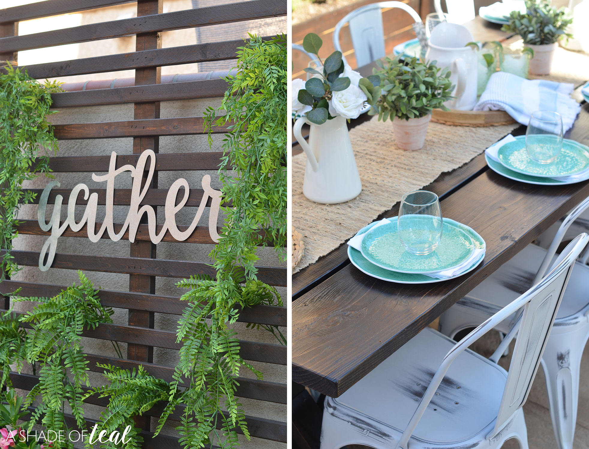 outdoor office space. Since It\u0027s Summer And The Perfect Time To Dine Outdoors, Setting Table For My New Outdoor Dining Space Was So Much Fun. I Love Bringing Inside Out, Office
