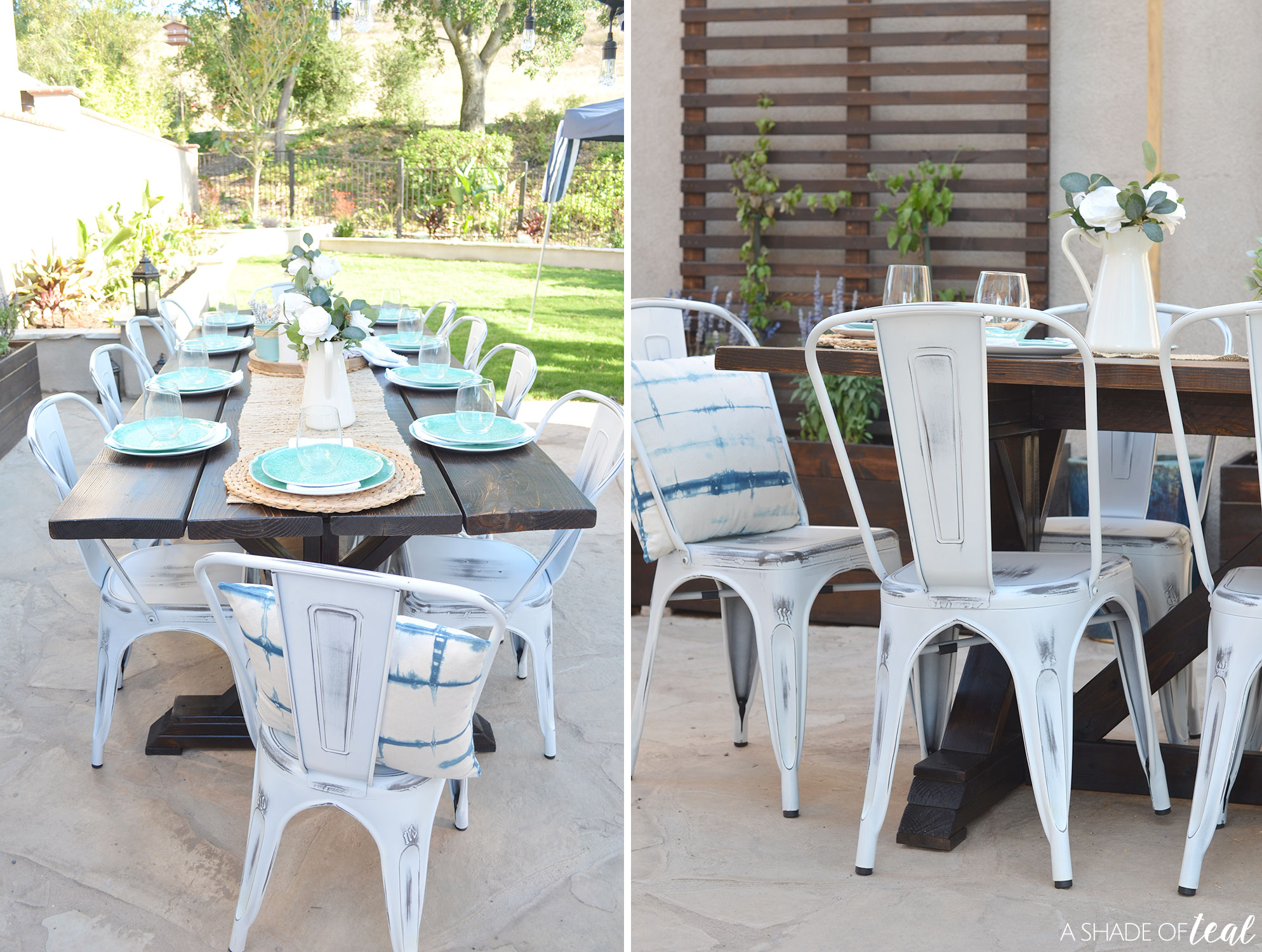 My New Outdoor Dining Space Plus a Giveaway