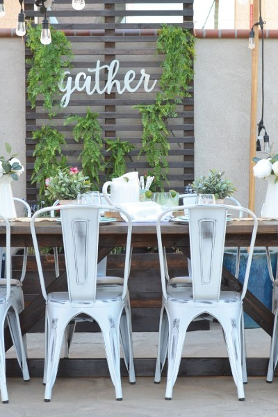 My New Outdoor Dining Space! Plus a Giveaway!