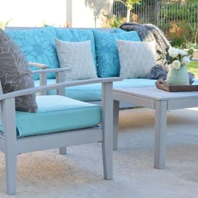 Outdoor Furniture Refresh!