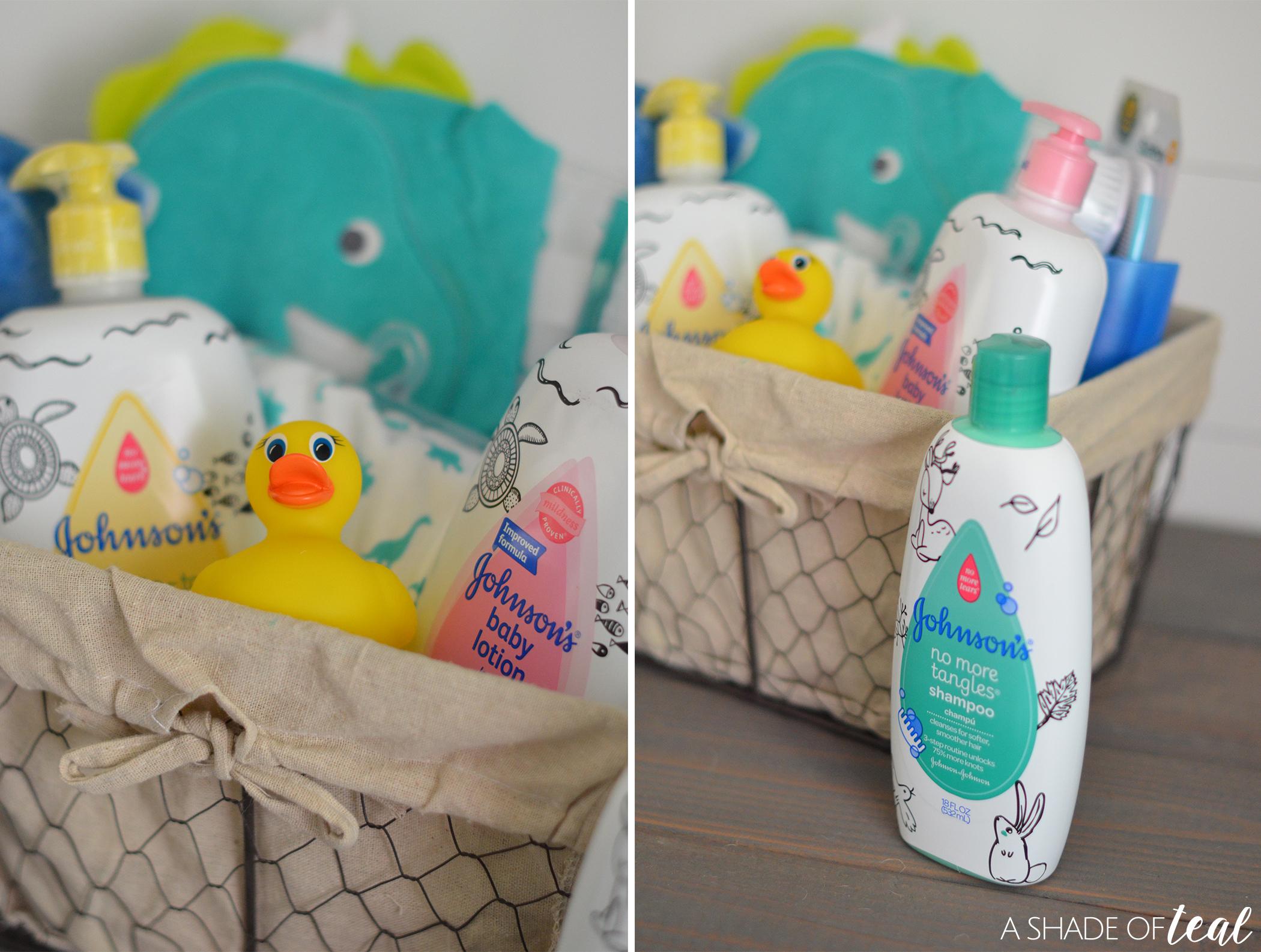 Make a Baby Bath time Kit