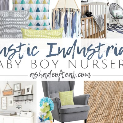 Rustic Industrial Baby Boy Nursery // ORC Week-1: The Plan