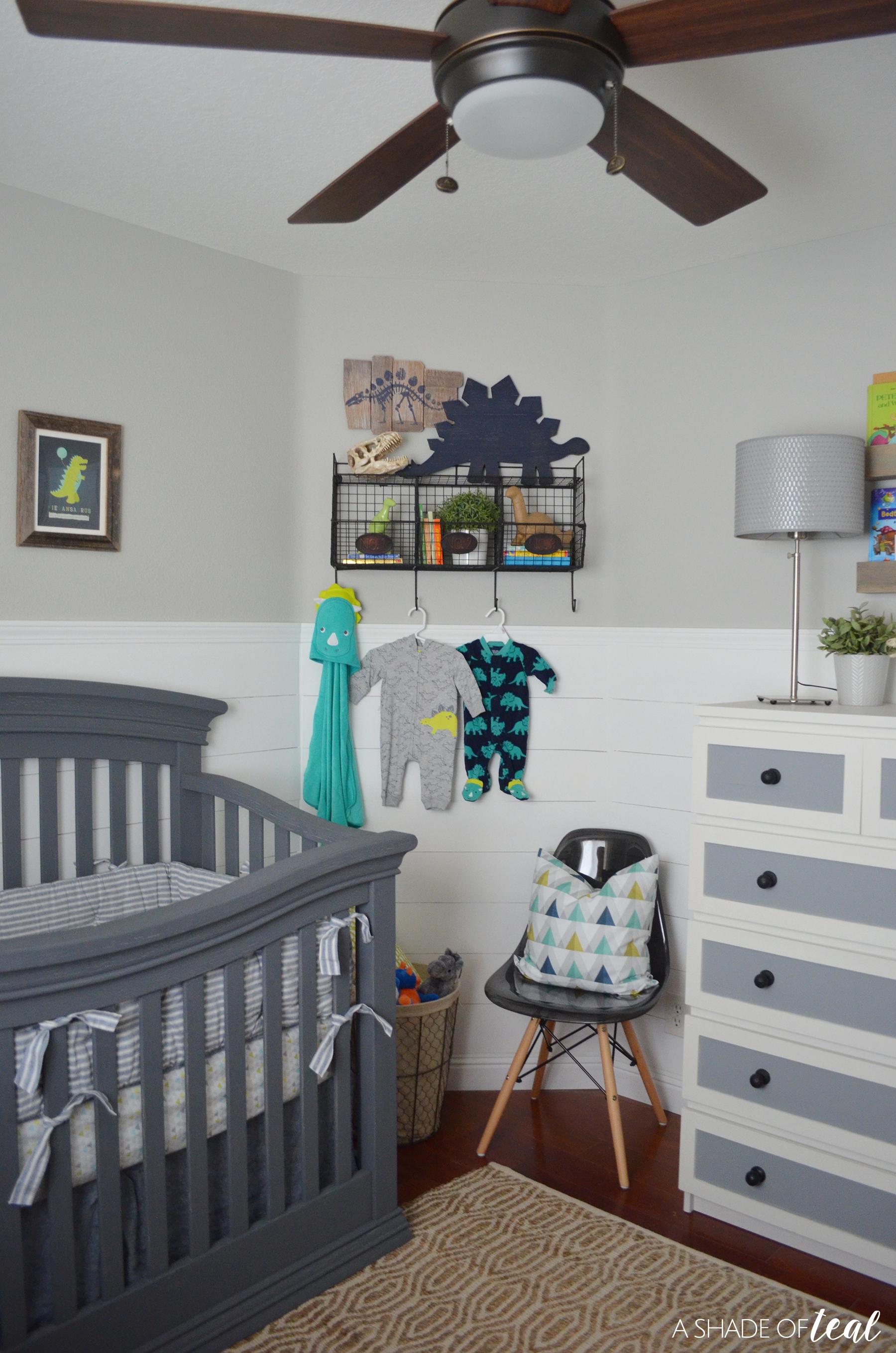 Rustic Industrial Baby Boy Nursery // ORC The Reveal