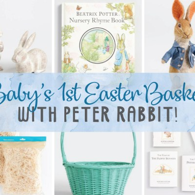 Baby's 1st Easter Basket with Peter Rabbit!