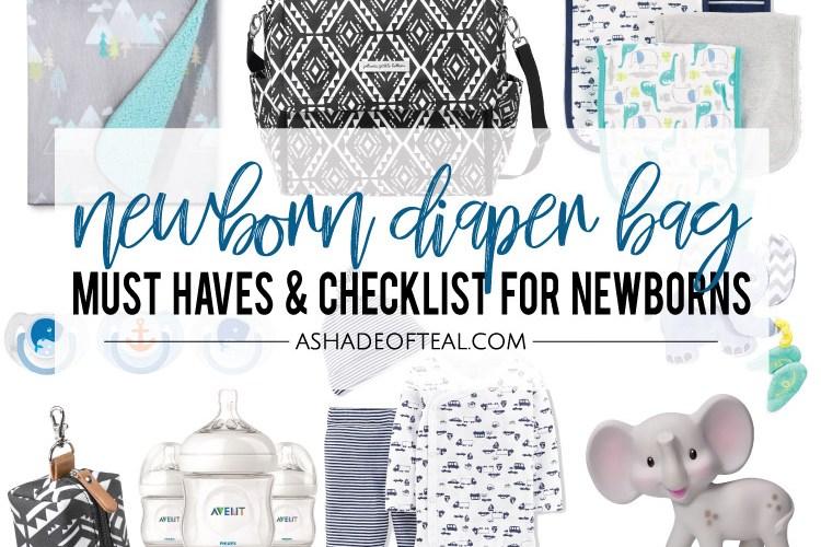 Newborn Diaper Bag Must Haves