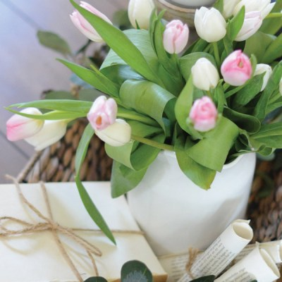 Creating a Springtime Vignette!