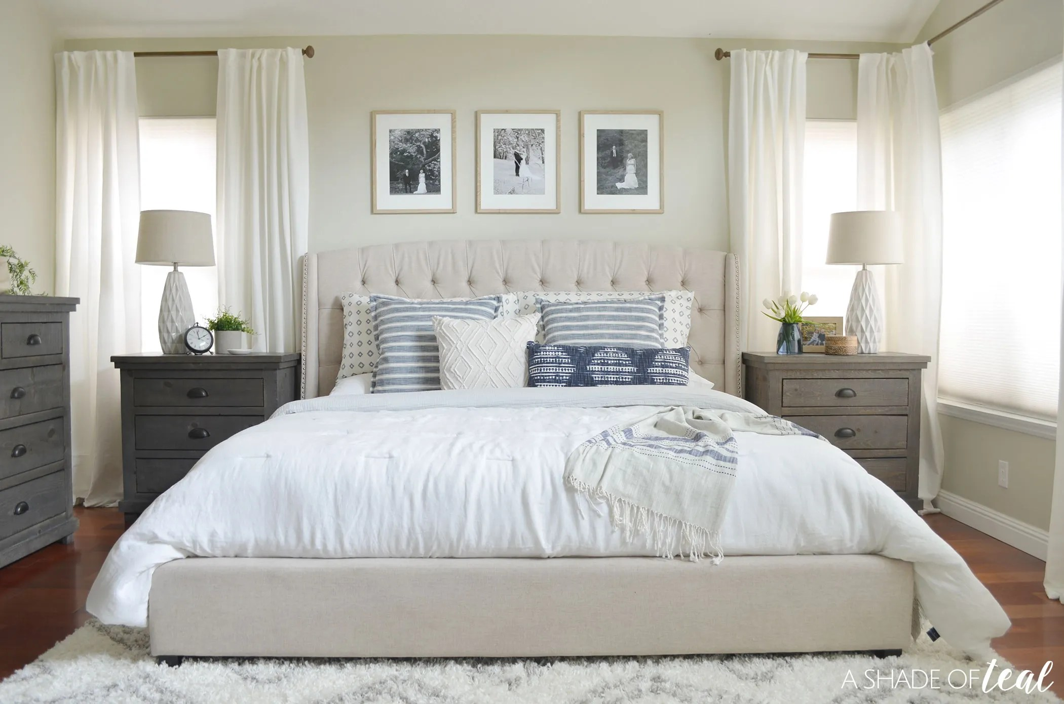 Rustic Chic Master Bedroom // ORC The Reveal!