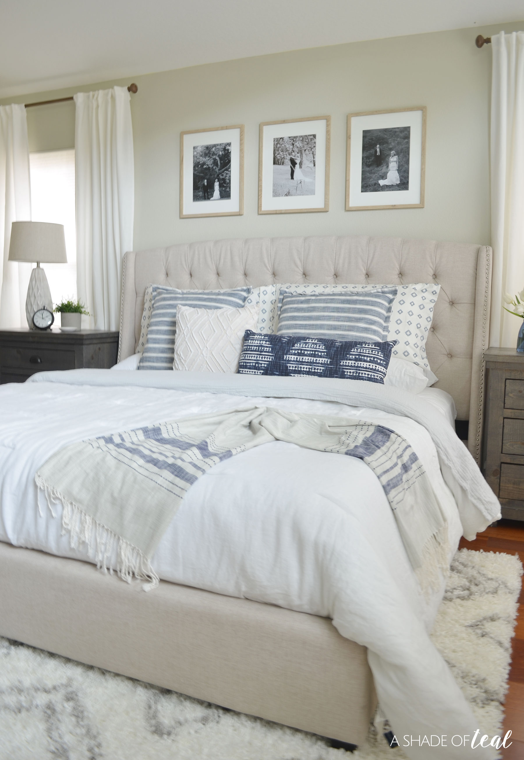Rustic Master Bedroom: Rustic Chic Master Bedroom // ORC The Reveal