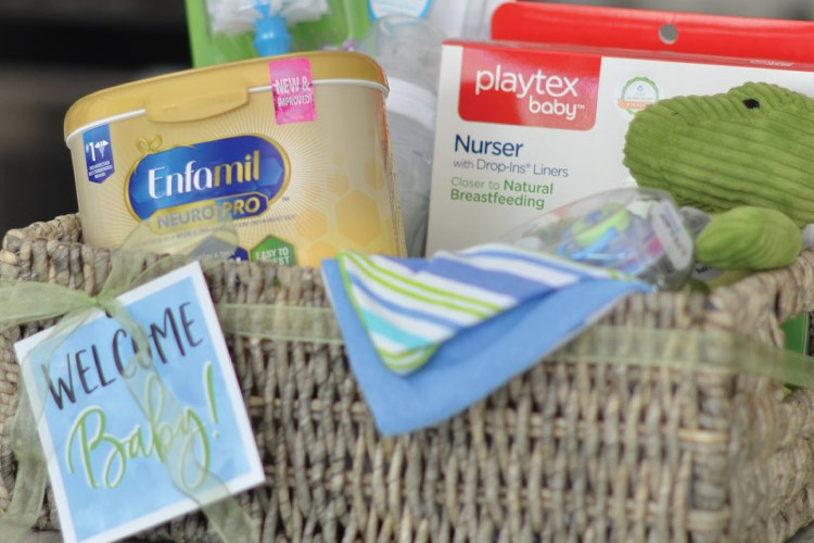 Create a New Baby Feeding Gift Basket!