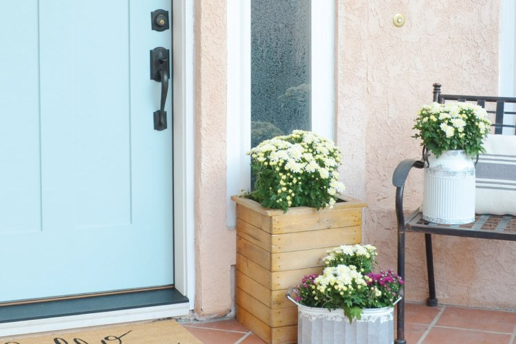 Decorating for Fall, Porch & Entryway Decor