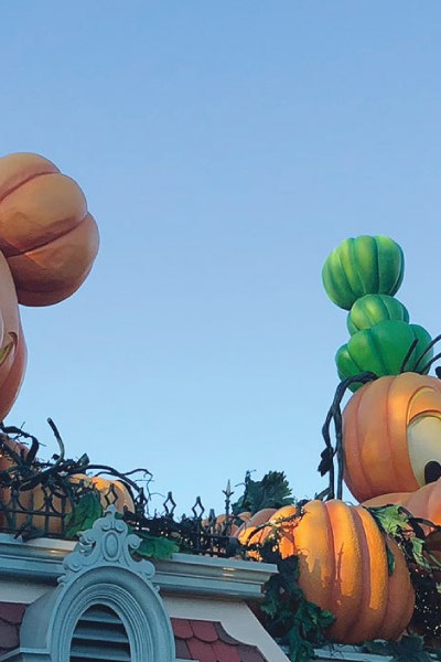 Mickey's Halloween Party at Disneyland!