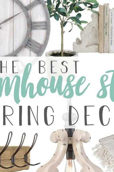 The Best Farmhouse Style Spring Decor