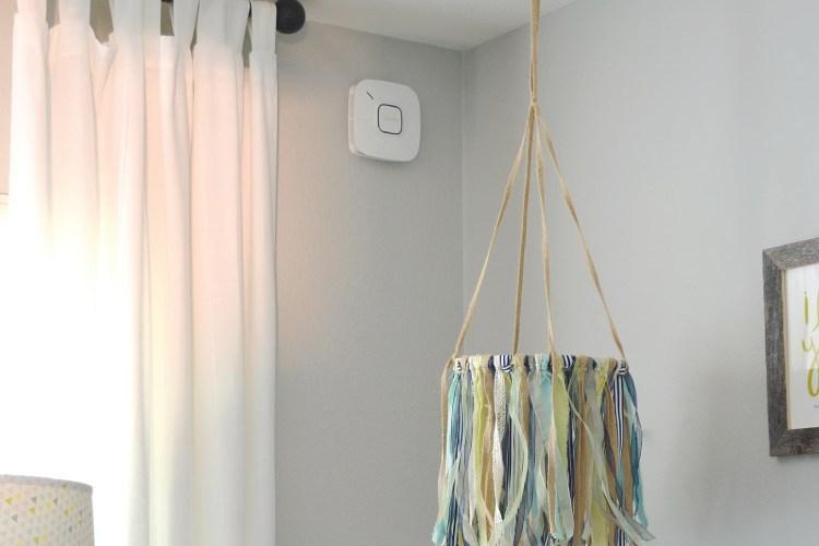Nursery Update with Onelink Smart Smoke & Carbon Monoxide Alarm