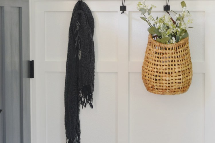 Entryway Makeover: How to Add Trim + Board & Batten