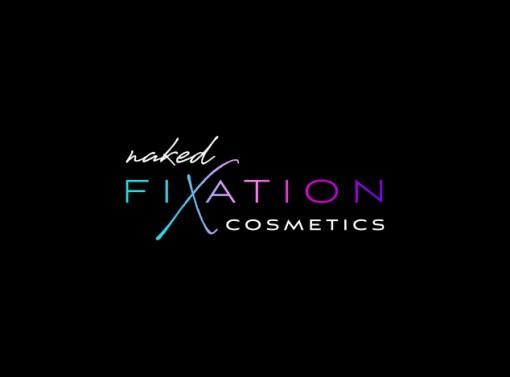 Naked Fixation Cosmetics Brand Identity