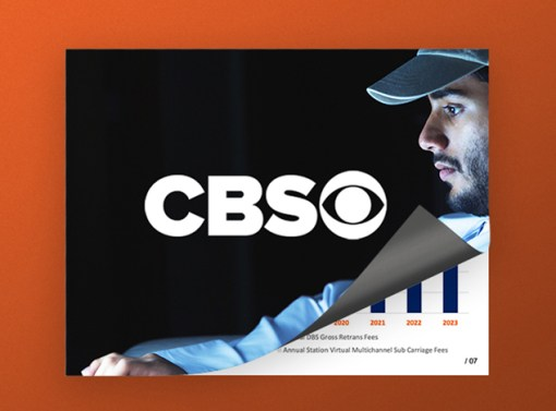 CBS Internal Presentation Design