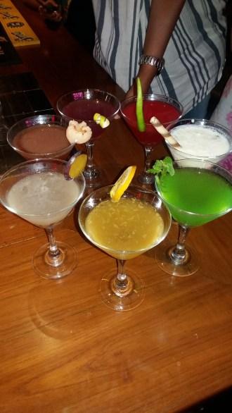 7 sins cocktails