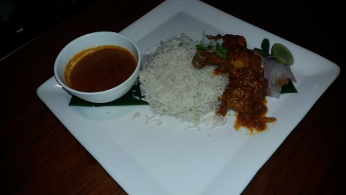 Dadima's chicken curry with rice
