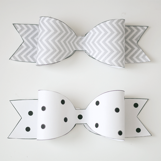 It's just a photo of Free Printable Hair Bow Templates with layered bow