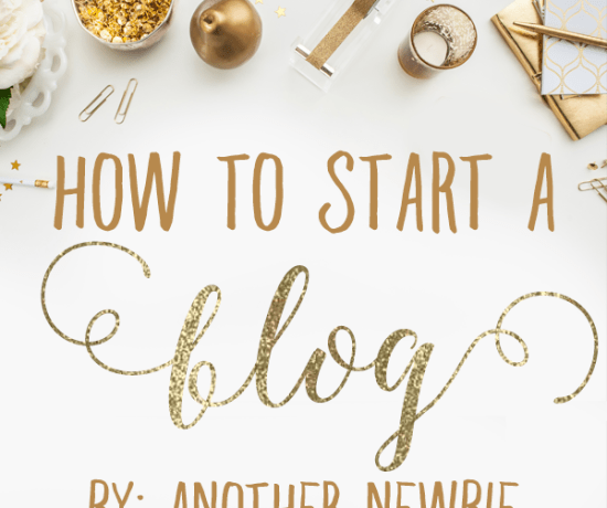 How to Start A Blog | ashandcrafts.com
