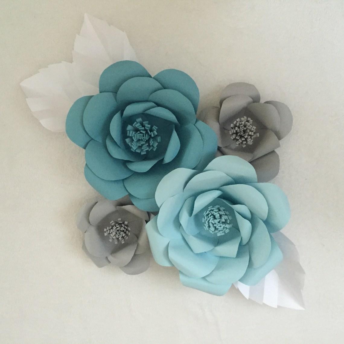 Paper Flower Backdrop, Paper Flower Wall - giant paper flowers | ashandcrafts.com