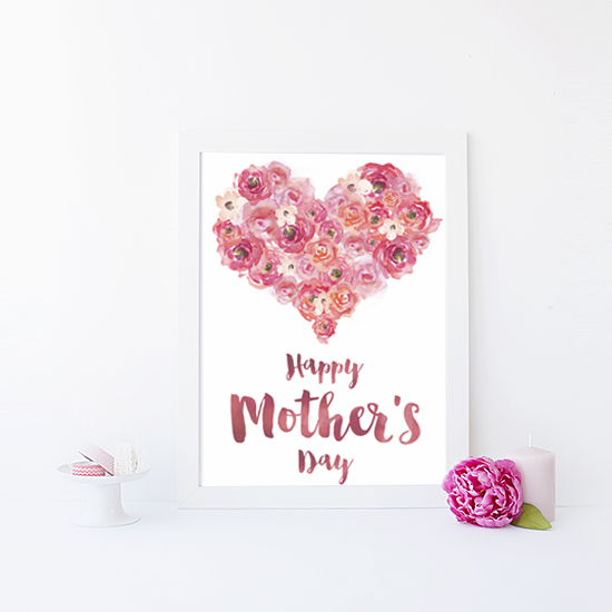 photo about Mothers Day Card Printable referred to as Freebie Friday: Moms Working day Card - Ash and Crafts