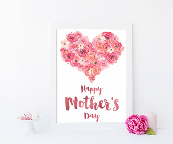 Free Mother's Day Card Printable | ashandcrafts.com