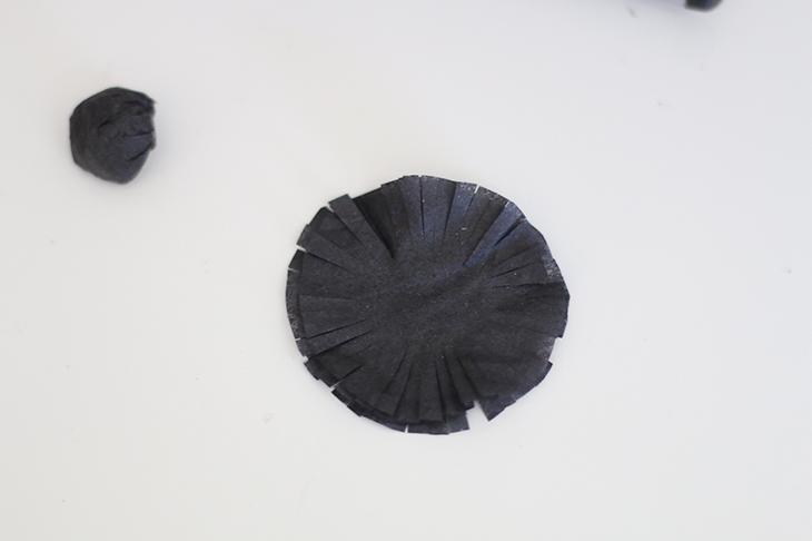 Crepe Paper Anemone Tutorial | ashandcrafts.com