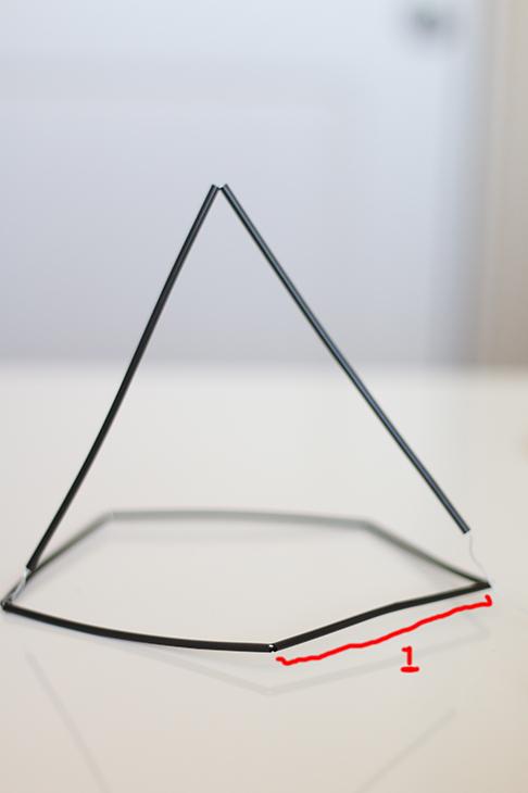 DIY Himmeli Geometric Sculpture | ashandcrafts.com