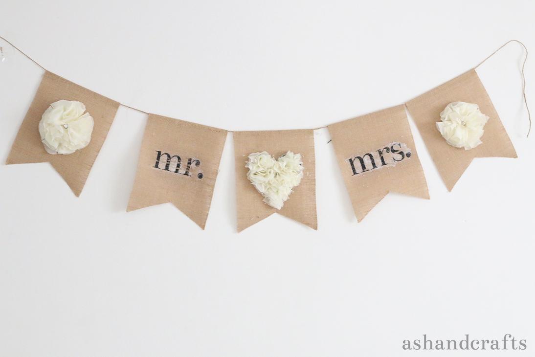 Customized Banner Tutorial | ashancrafts.com