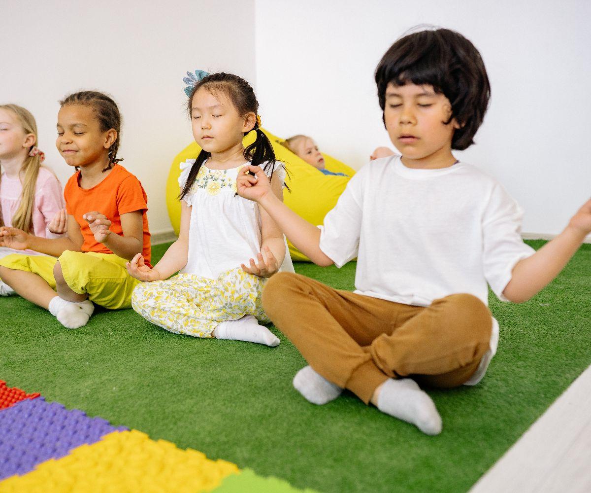 Kinderyoga beim Yoga in Frankfurt