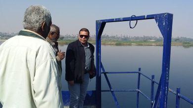 رئيس مدينة الزينية يتفقد سير العمل بمرشح المياه شمال الأقصر