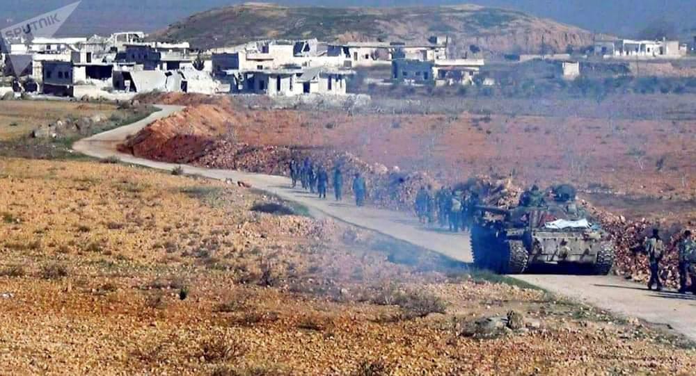 مقتل ضابط وإصابة عدد من جنود الجيش السوري بقصف صاروخي لتنظيمات إرهابية في ريف حماة