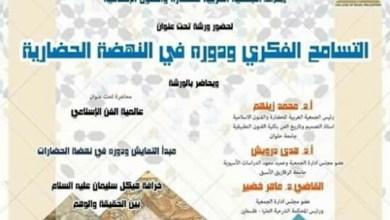 Photo of التسامح الفكري ودوره في النهضة الحضارية