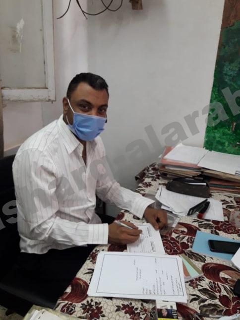 مدير مدرسة ابو بكرالرسمية لغات يعتمد نتيجة النقل .. 99% نسبة النجاح