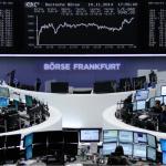 الأسهم الأوروية تبلغ أعلى مستوياتها في حوالي ثلاثة أسابيع