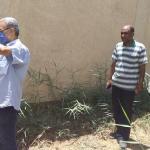 تشكيل لجنة صحية لفحص أزمة ارتفاع منسوب المياه الجوفية حول الوحدة الصعايدة بالأقصر