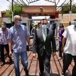 نائب محافظ الاقصر يتفقد المقرات الانتخابية بالمدارس للتأكد من جاهزيتها لإستقبال الناخبين