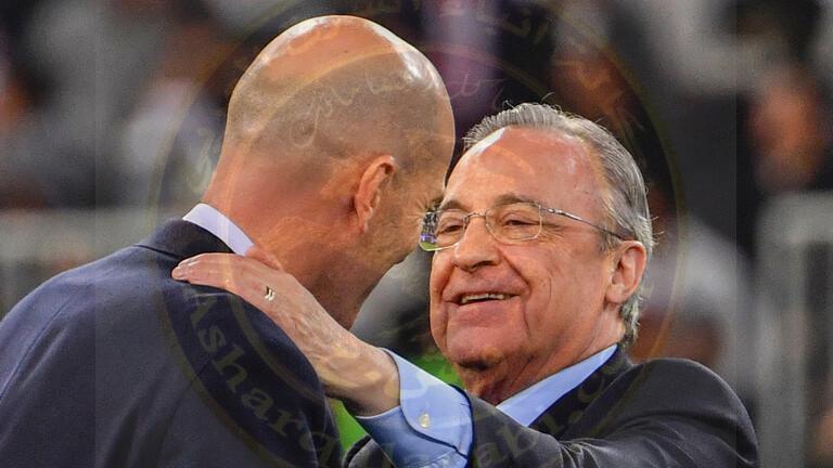 فلورنتينو بيريز ريال مدريد  لن يُطرد من دوري أبطال أوروبا